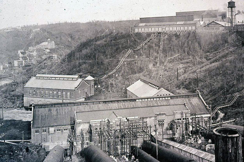 The Shawinigan-1 and two generating stations of the Northern Aluminum Company