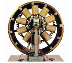 Picture of the Froment Electric Motor