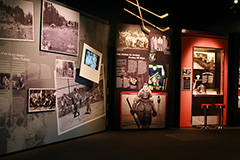 A section of the Stories from our Lives exhibit