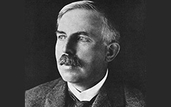 Photo de Ernest Rutherford